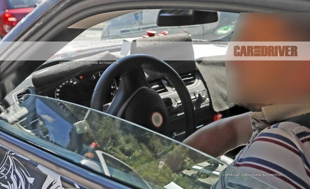 2018 toyota Supra interior real photo