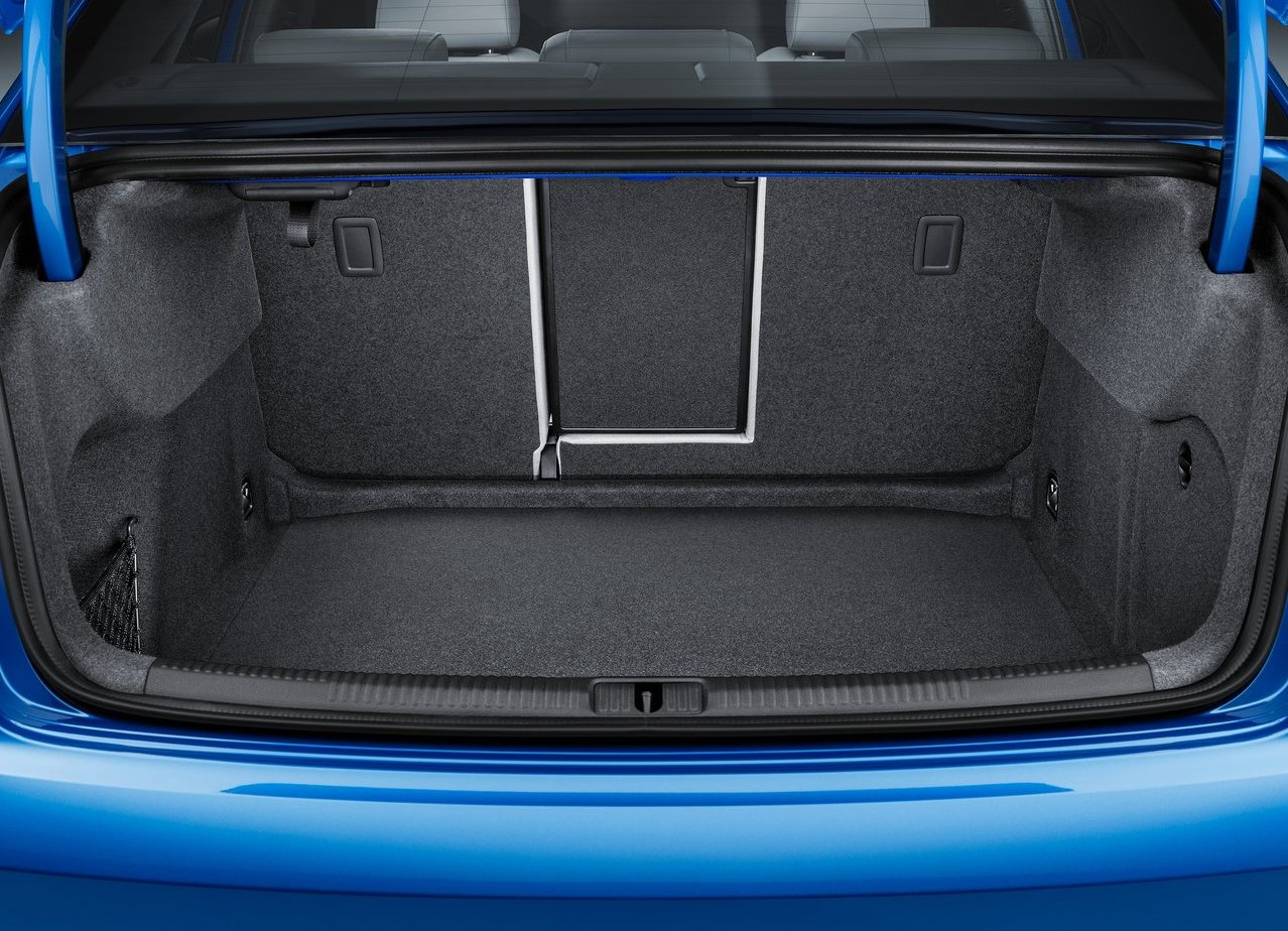 2018 Audi A3 Coupe Trunk Capacity
