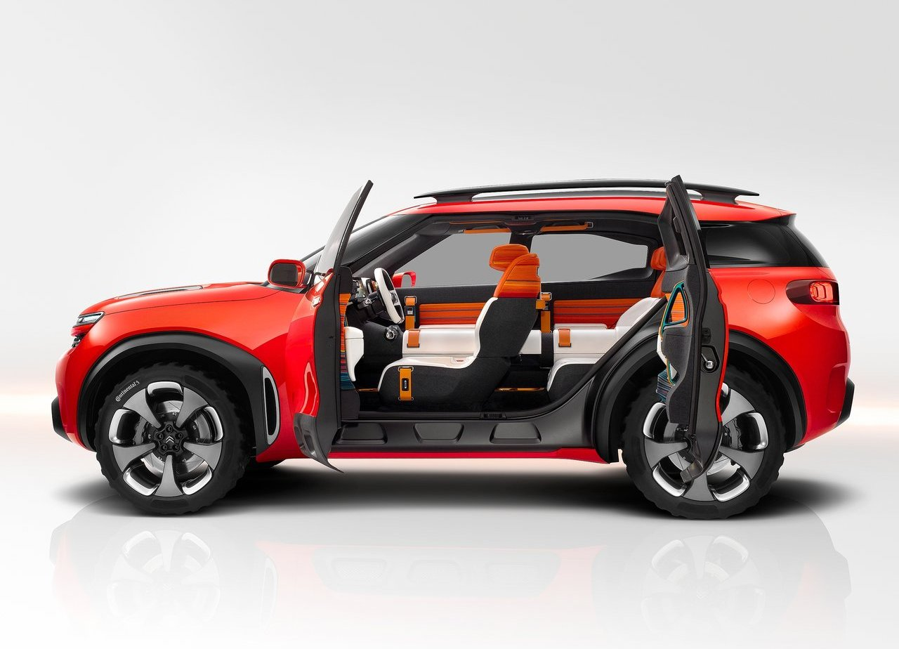 2018 Citroën C5 Aircross Features Concept