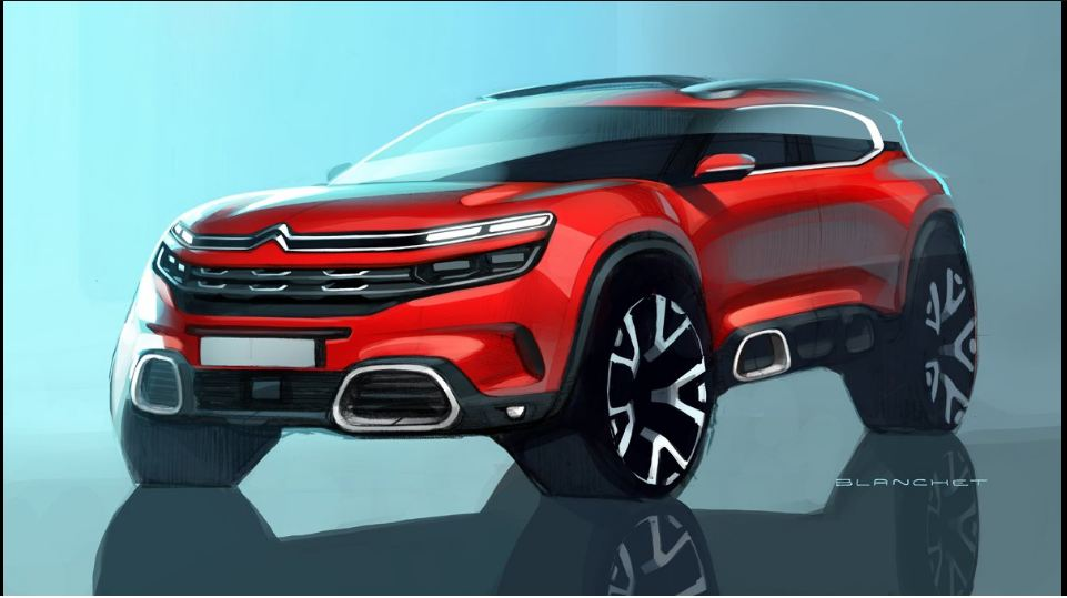 2018 Citroën C5 Aircross Photos Reveals