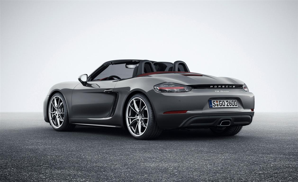 2018 Porsche 718 Boxster Release Date and Price