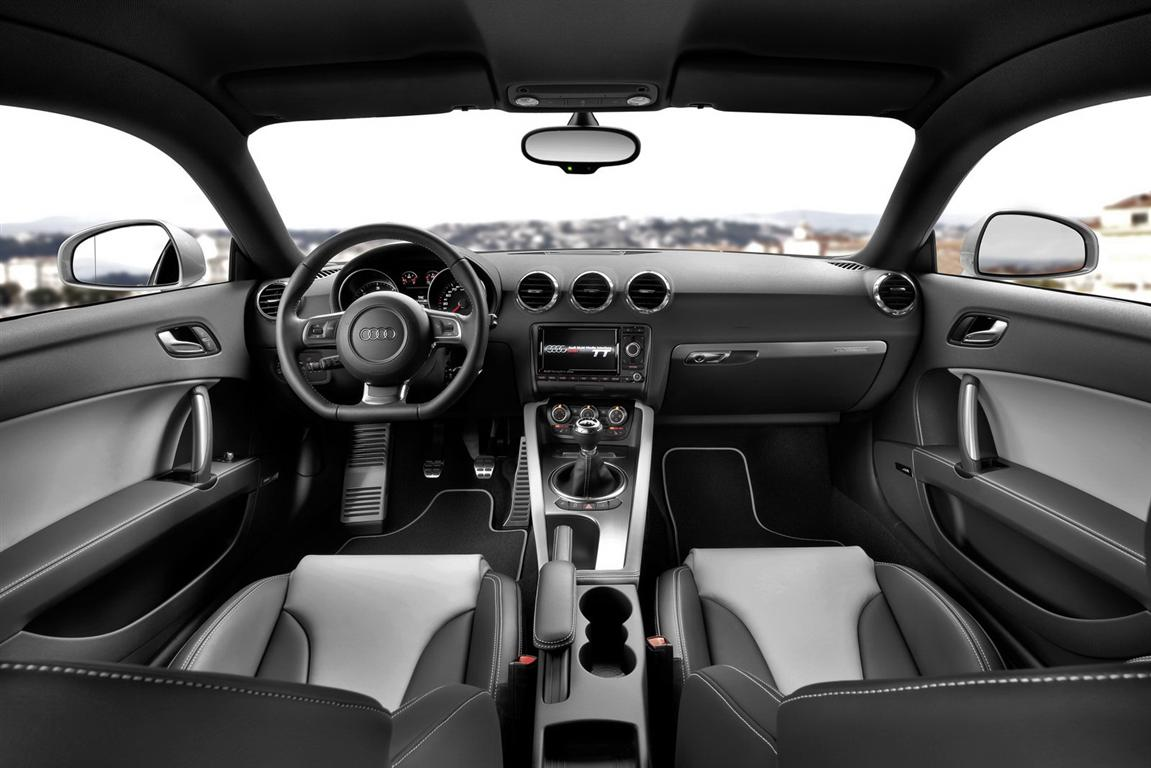 Audi TT Coupe 2018 Interior Capacity