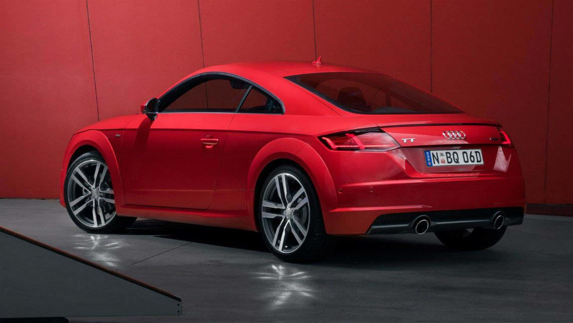 Audi TT Coupe 2018 Rear Angle Exterior Redesign