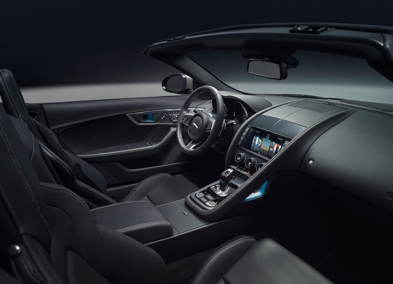 2018 Jaguar F-Type Interior Features