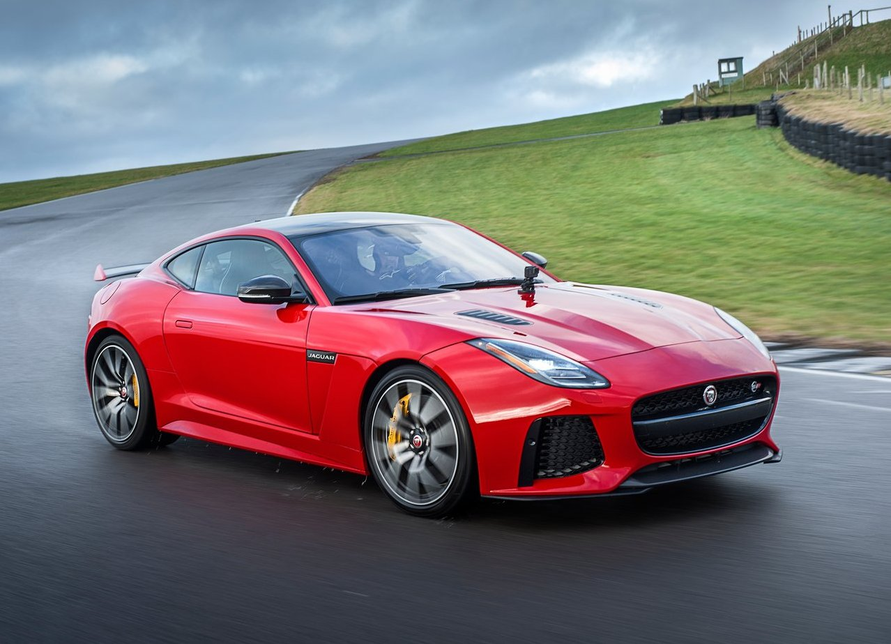 2018 Jaguar F-Type Rede Color trims