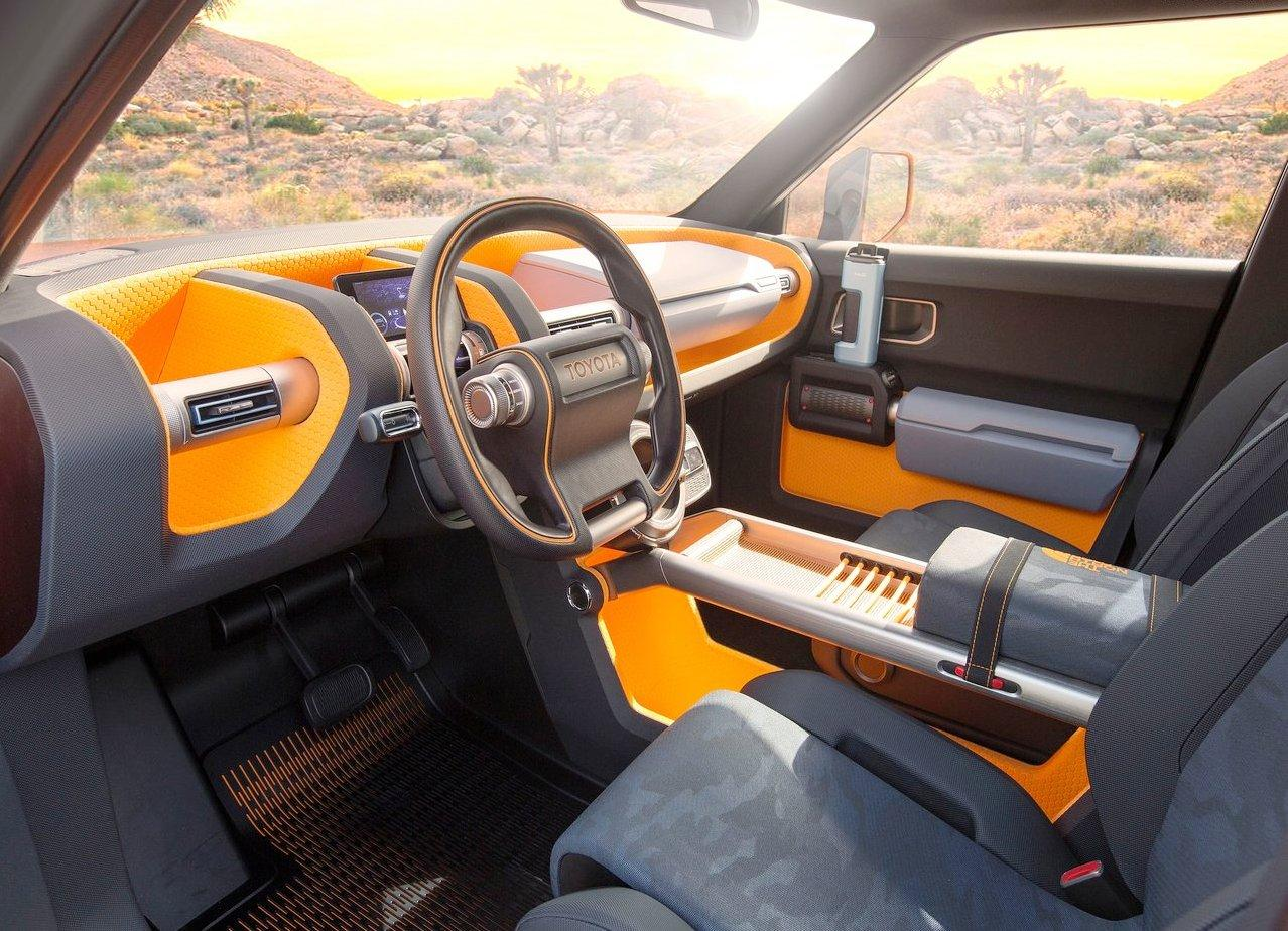 2018 Toyota FT-4 X Concept Interior Photos