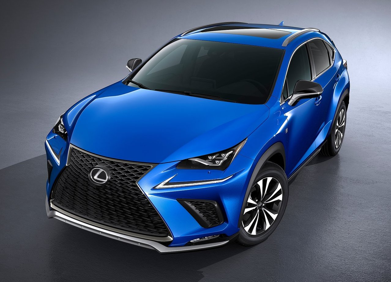 2019-2018 Lexus NX F-Sport Changes