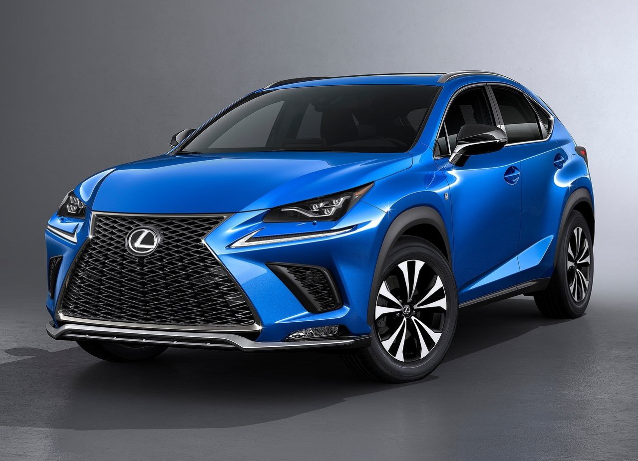 2019-2018 Lexus NX F-Sport Improvement