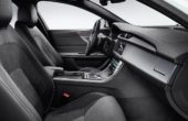 2019 Jaguar XF Black Jack Interior and Trunk
