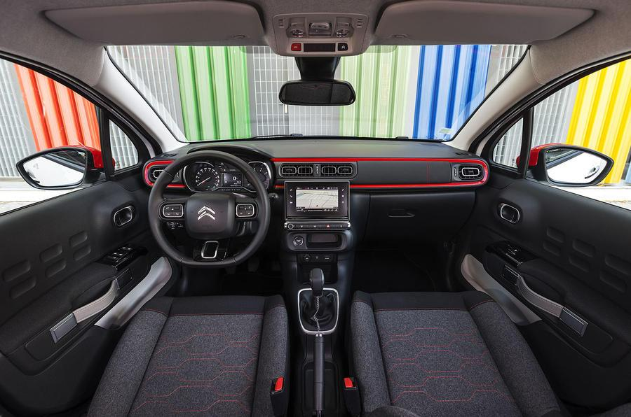 2018 Citroen C3 Puretech Interior Space