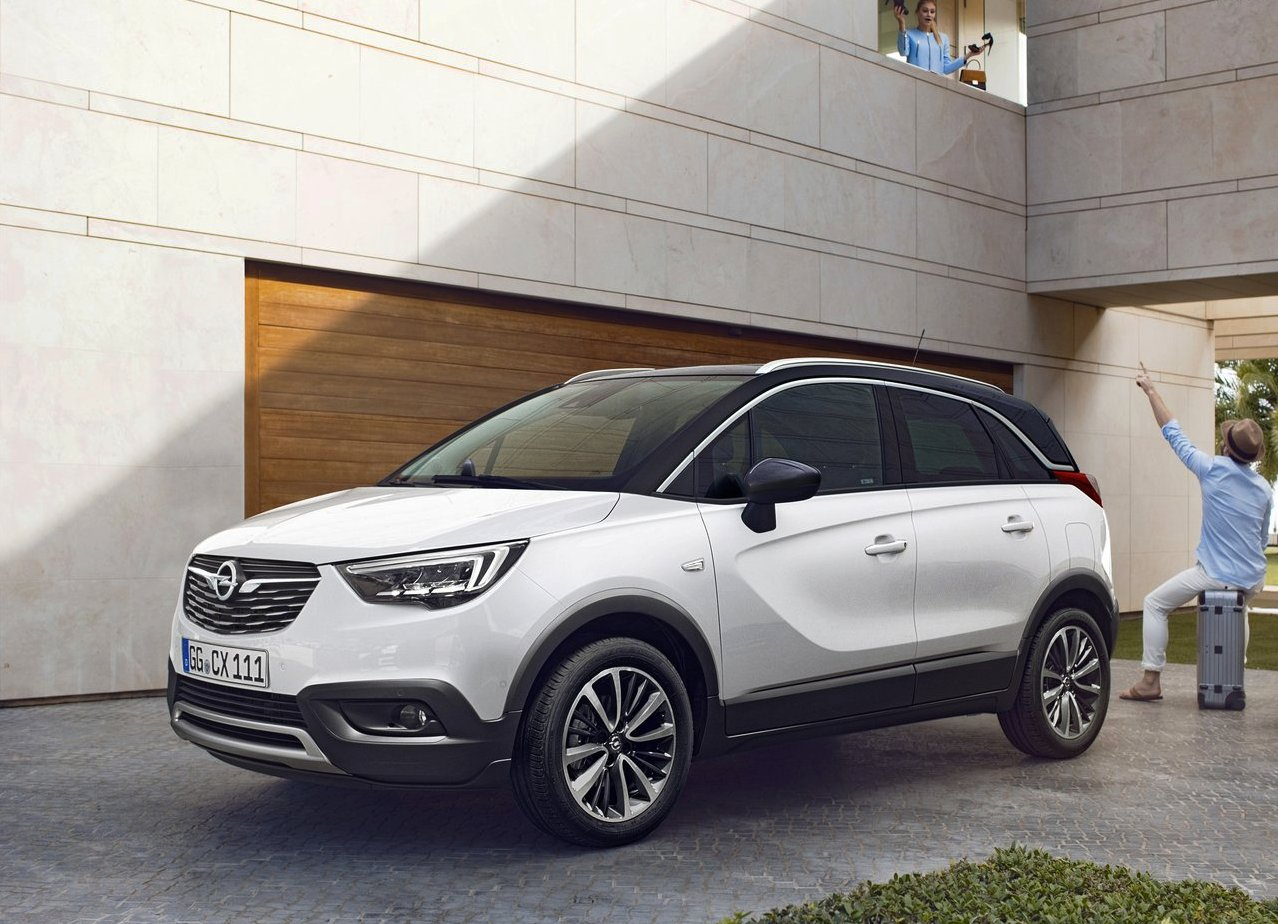 2018 opel crossland x redesign and specs new suv price. Black Bedroom Furniture Sets. Home Design Ideas