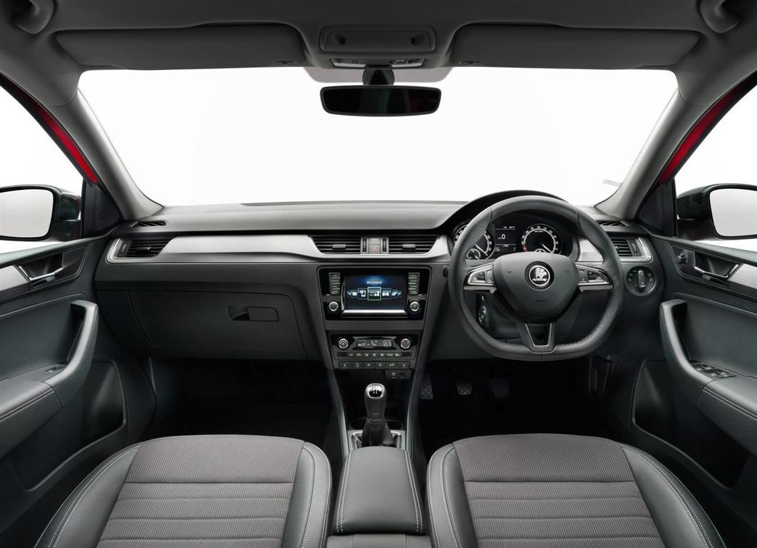 2018 Skoda Rapid Spaceback Interior