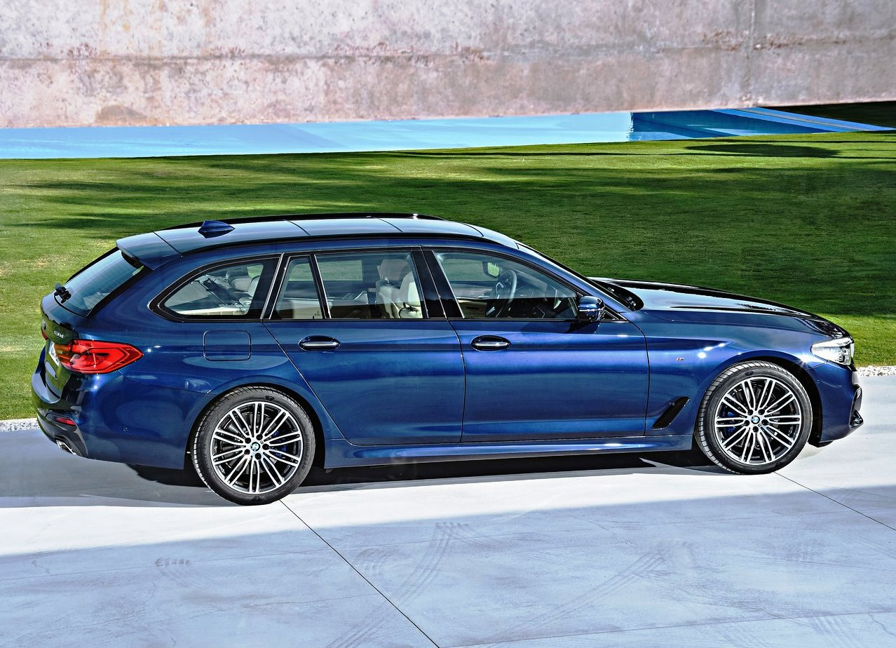 2019 BMW 5 Series Touring Dimensins