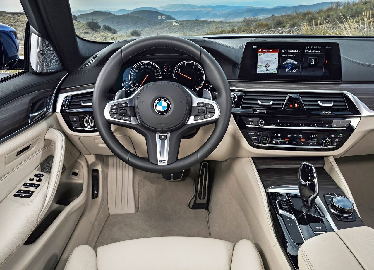 2019 BMW 5 Series Touring Interior Photos