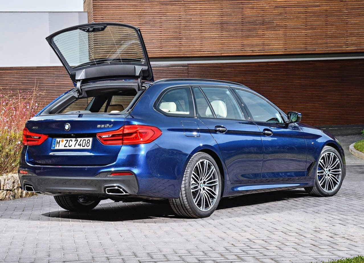 2019 BMW 5 Series Touring Trunk Space
