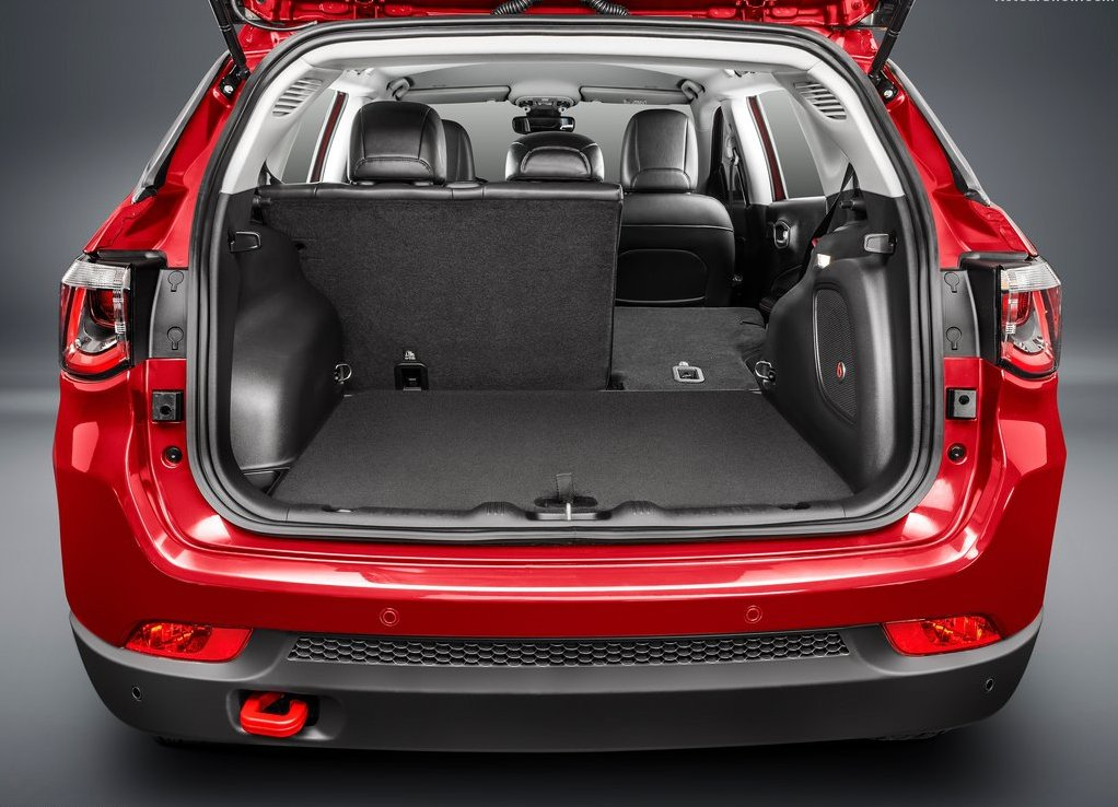 2019 Jeep Compass MultiJet Trunk Capacity