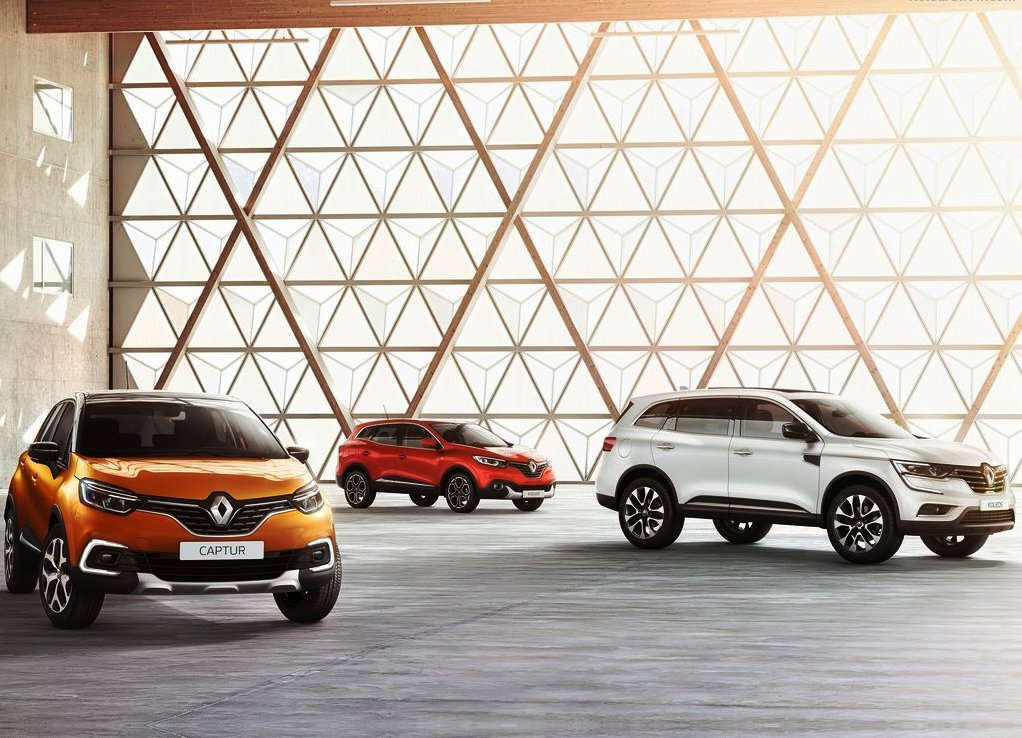 2019 Renault Captur Color Trims