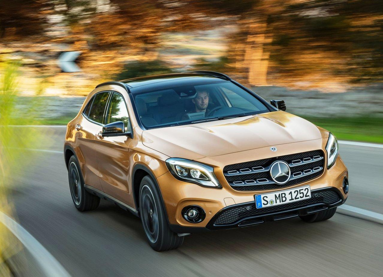 Mercedes GLA 2018 Exterior Design Updates