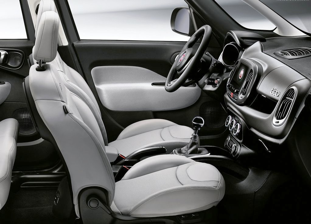 2019 Fiat 500L Interior Changes