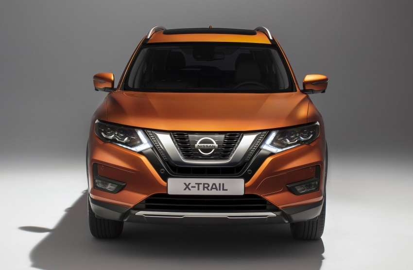 2019 Nissan X-Trail Facelift Exterior and Headlamps
