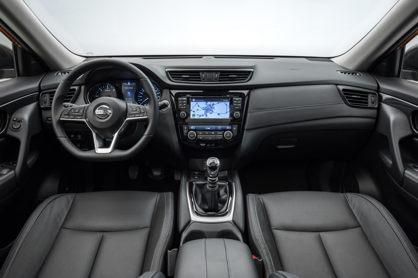 2019 Nissan X-Trail Interior Dashboard