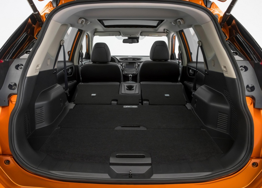 2019 Nissan X-Trail Trunk Capacity