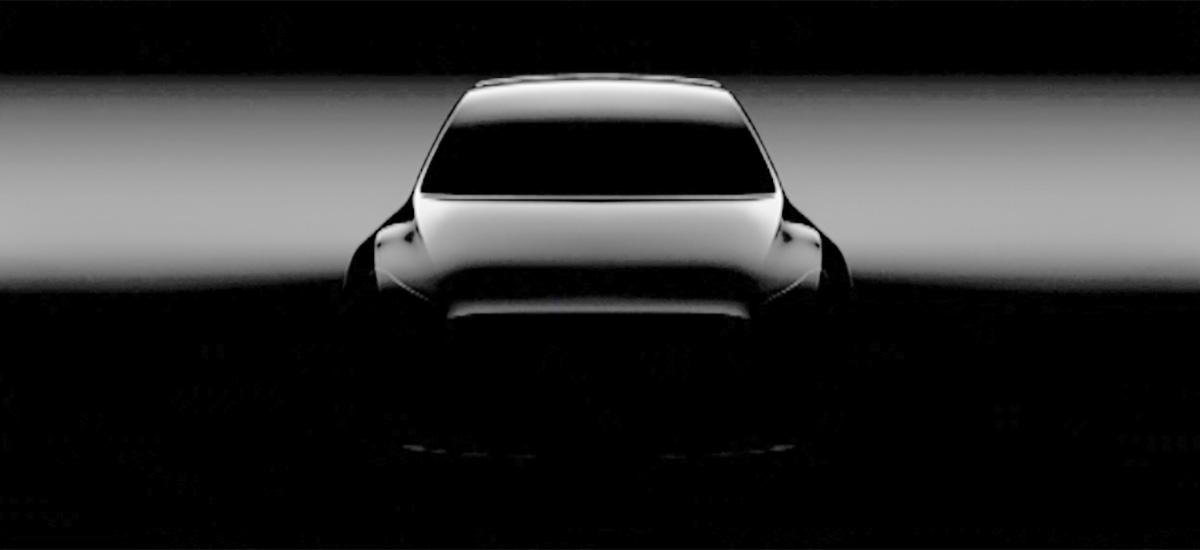 2019 Tesla Model Y SUV New Teaser Update