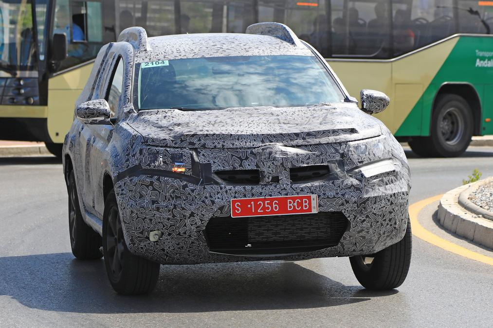 Dacia Duster 2018 Spied Photos