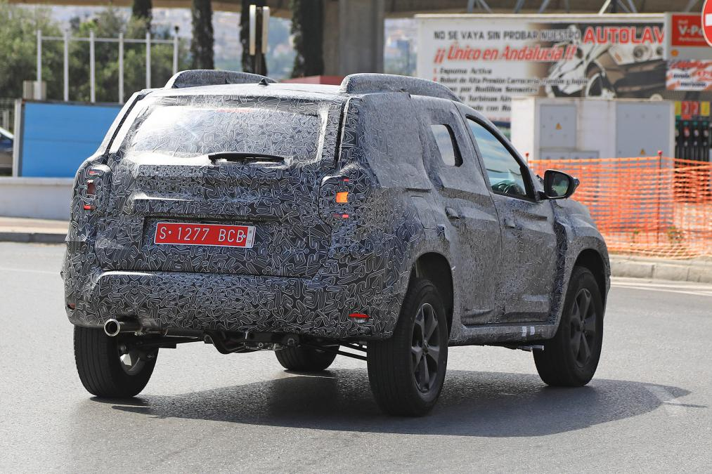 Dacia Duster 2018 Spy Images