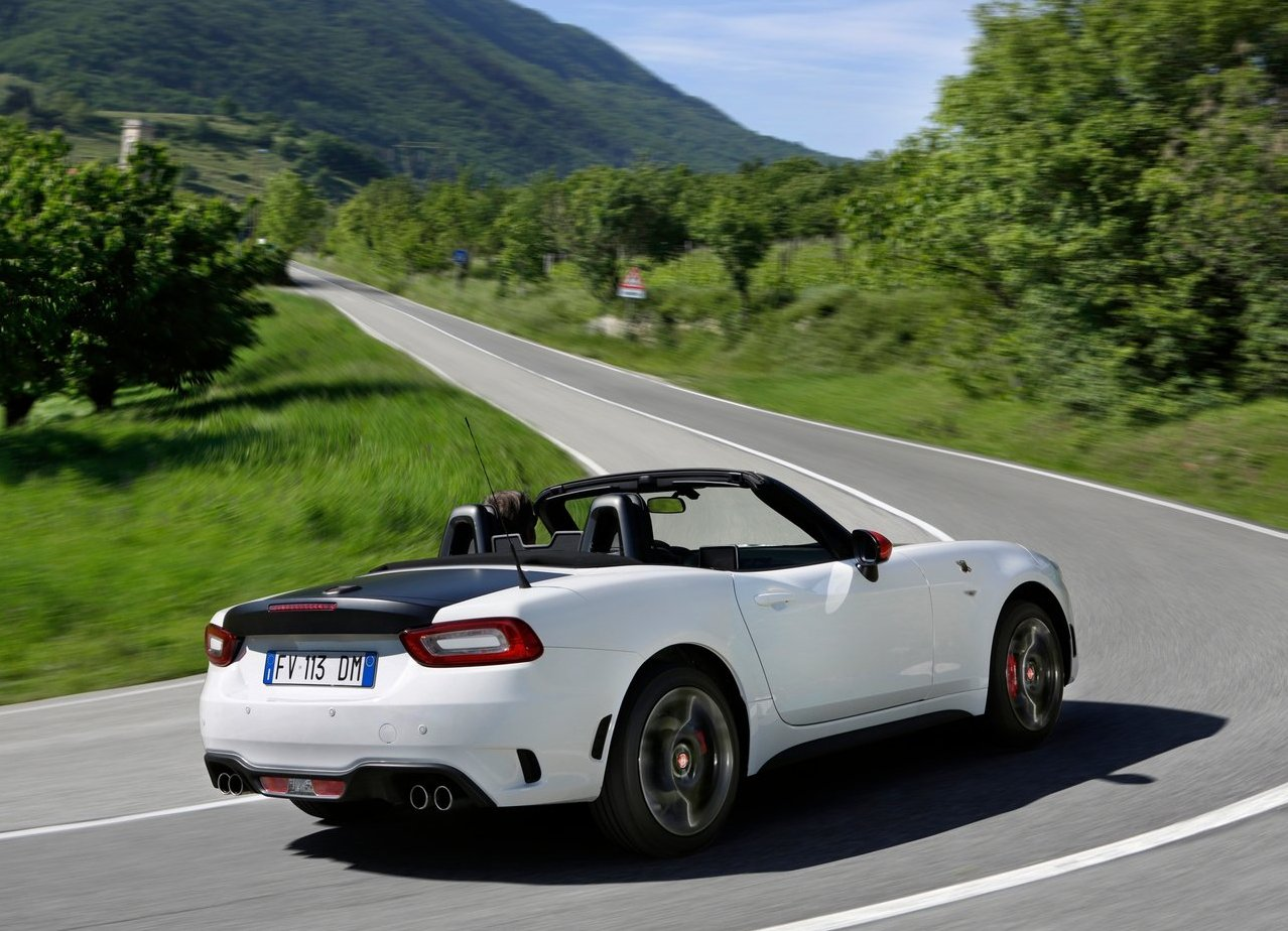 2018 Abarth 124 Spider Gas Mileage