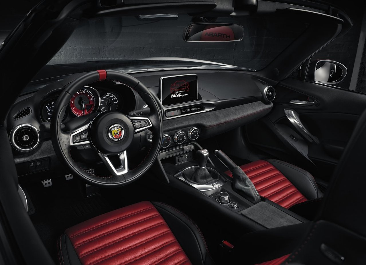 2018 Abarth 124 Spider Interior