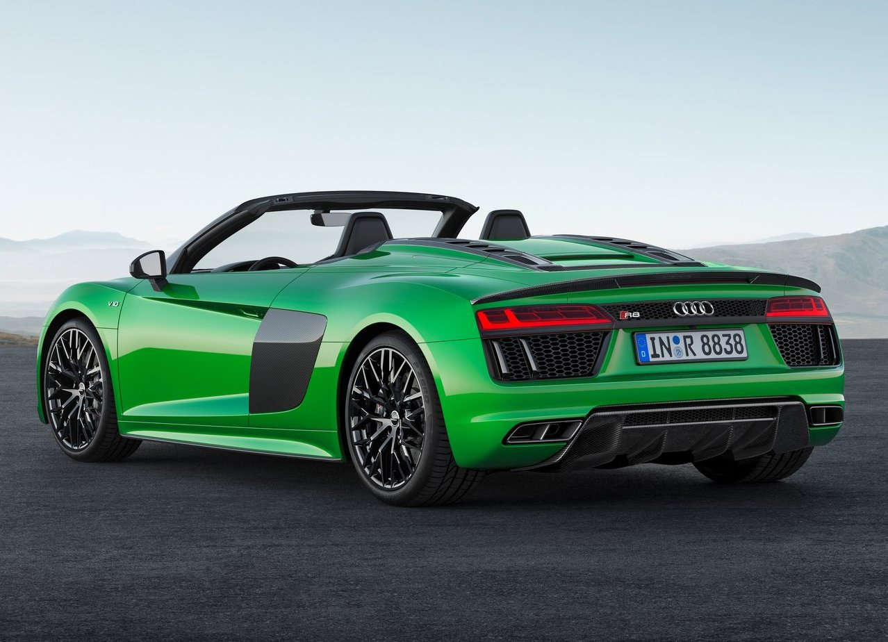 2019 Audi R8 Convertible Pictures