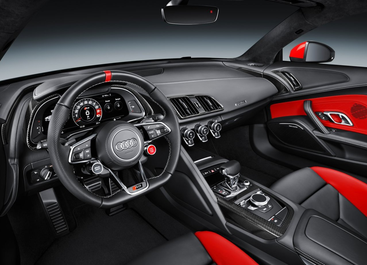 2019 Audi R8 Review, Interior, V10 Plus Horsepower ...