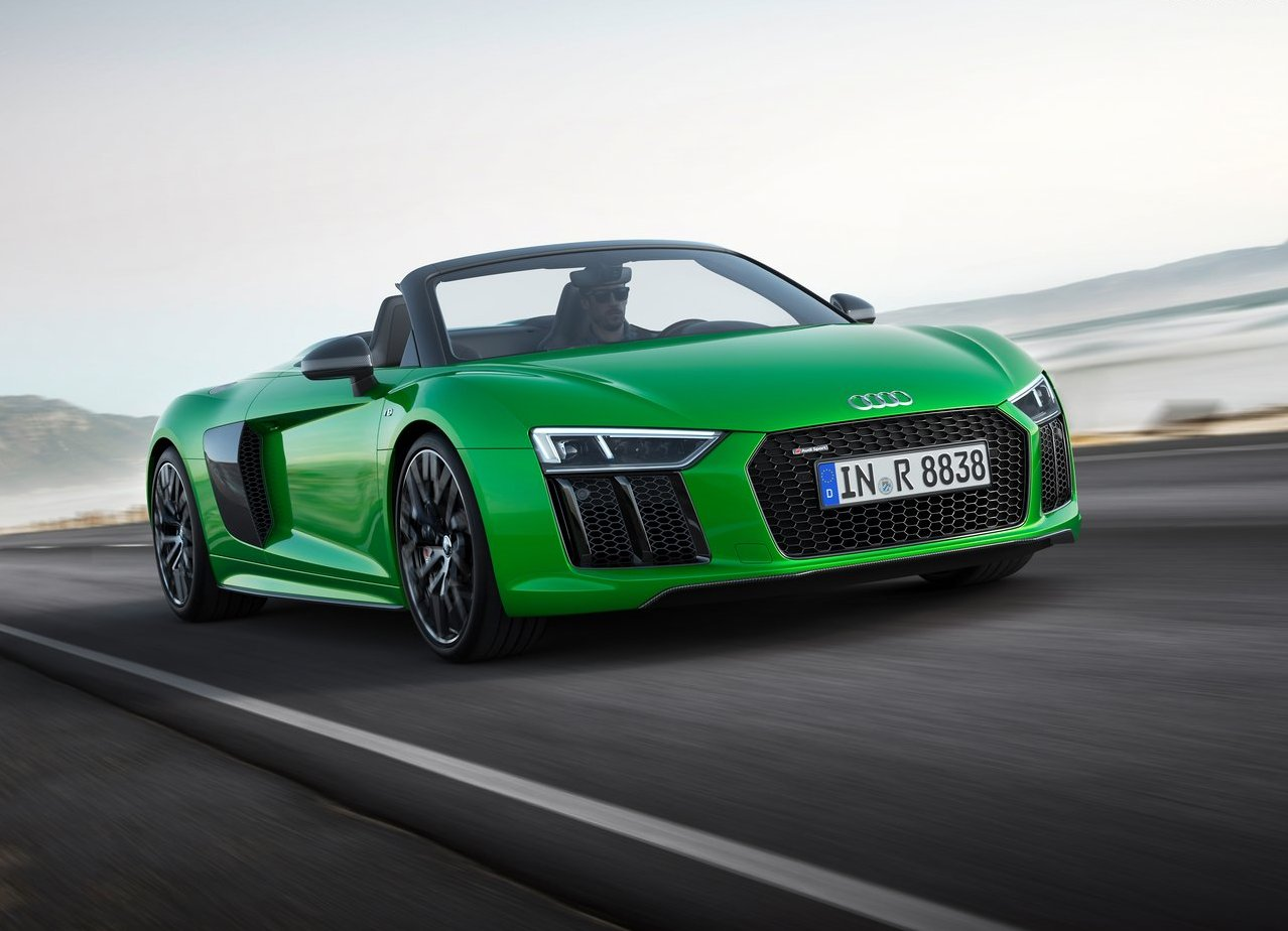 2019 Audi R8 Spyder Changes