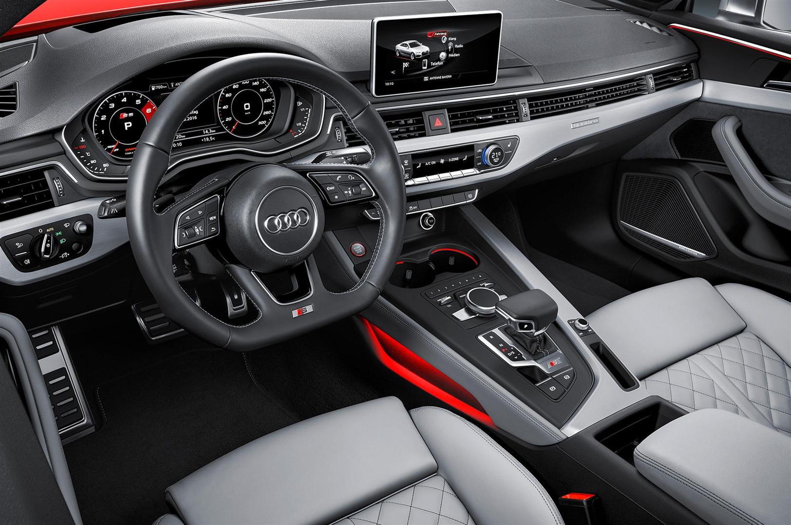 2019 Audi RS 5 Interior Changes Dashboard