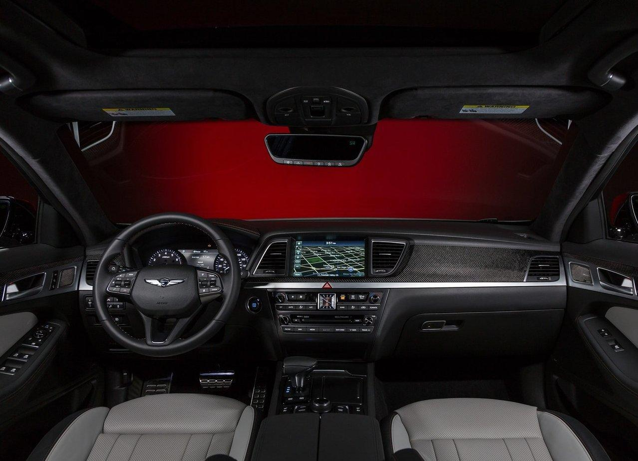 2019 Genesis G70 Interior Dashboard