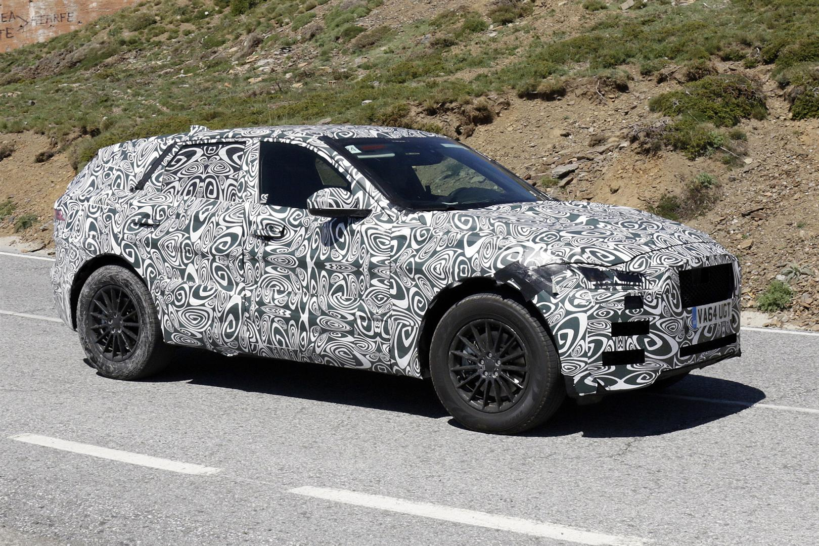 All New Jaguar E-Pace 2019 SPy SHots