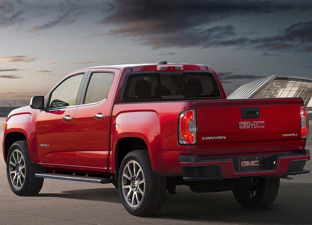 GMC Canyon 2018 Diesel gas Mileage and Horsepower