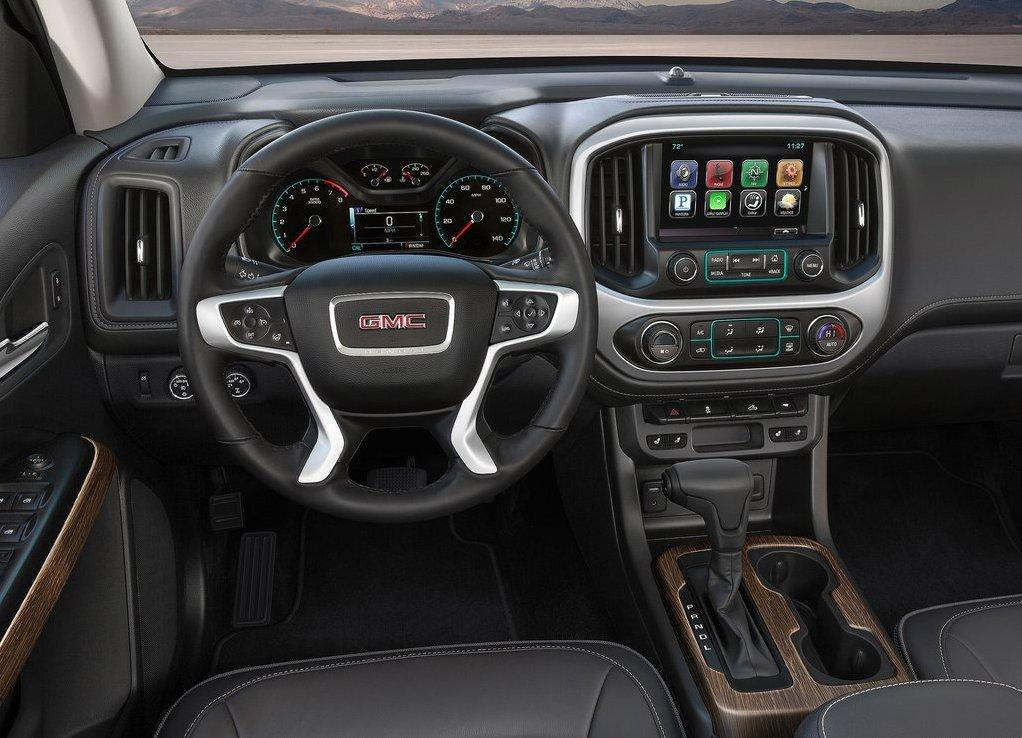 GMC Canyon 2018 Interior Changes