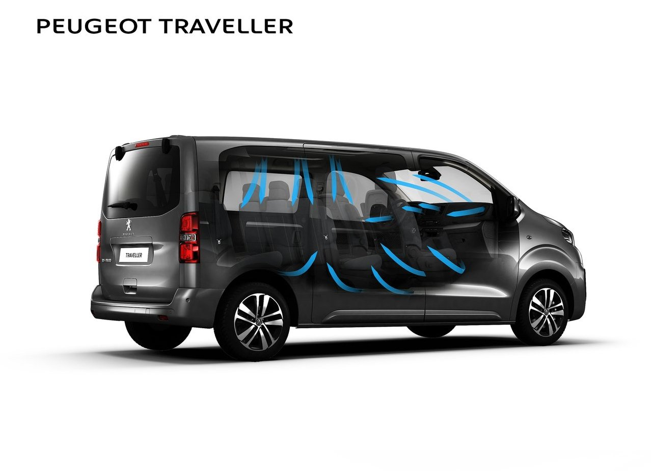 peugeot traveller 2018 review van space comfort interior new suv price. Black Bedroom Furniture Sets. Home Design Ideas