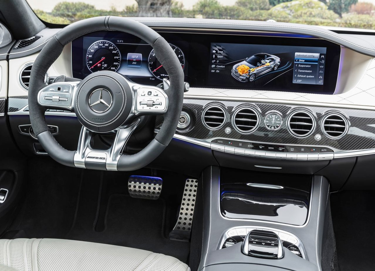 2018 Mercedes S63 AMG 4Matic Lunga Dashboard Photo