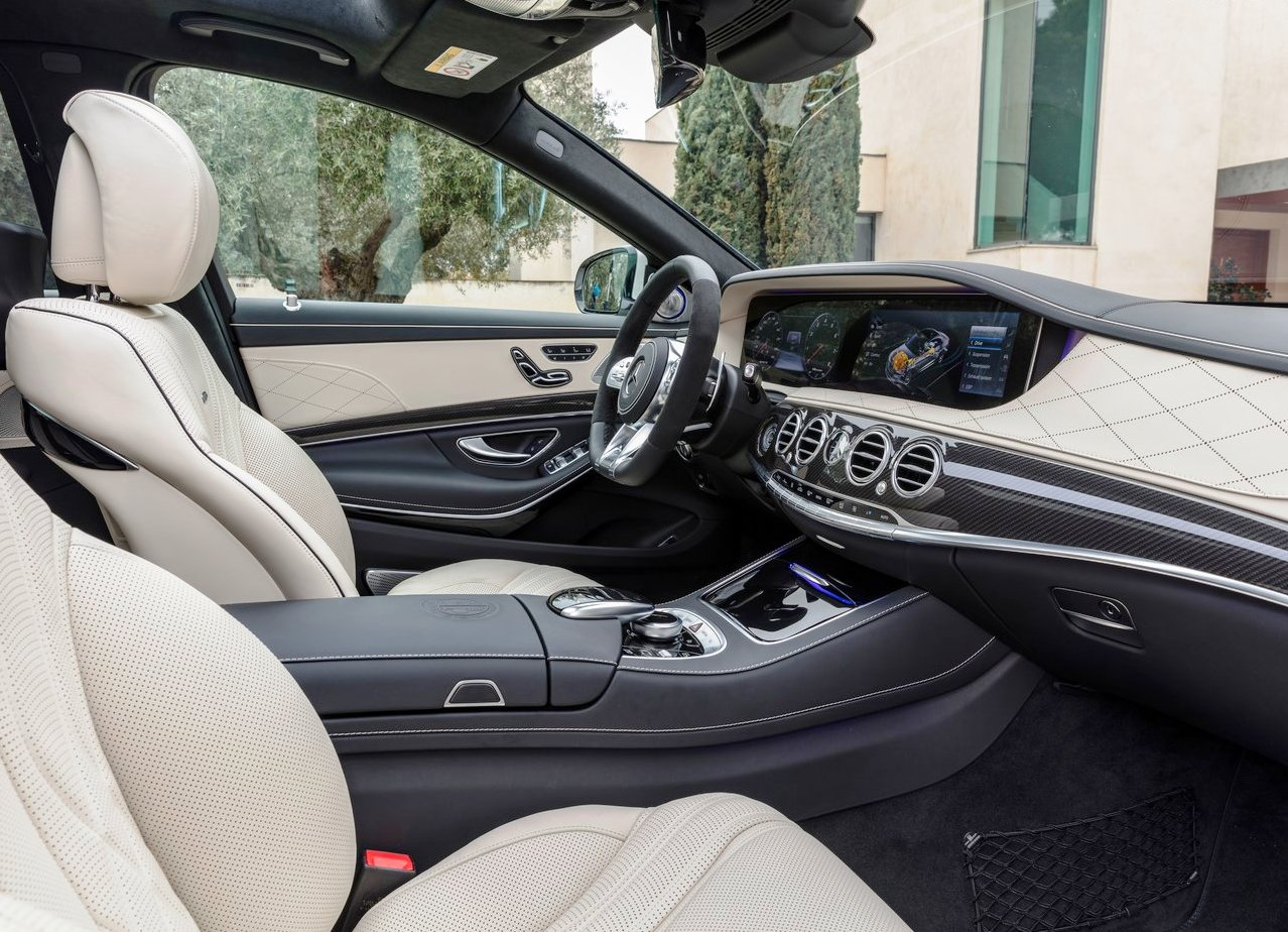 2018 Mercedes S63 AMG 4Matic Lunga Dimensions Interior Cabin