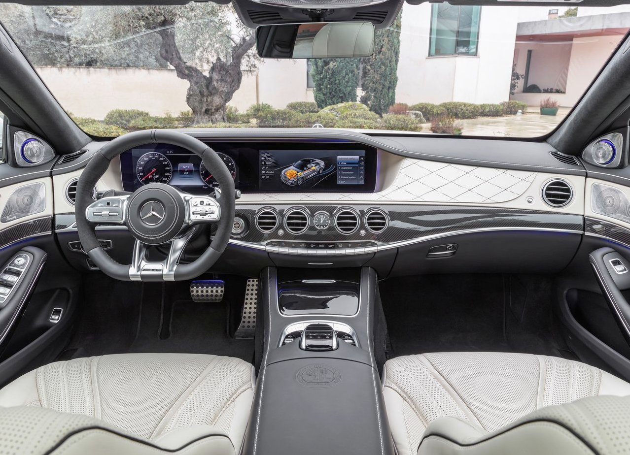 2018 Mercedes S63 AMG 4Matic Lunga Interior Features