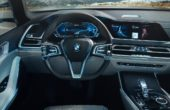 2018 BMW X7 Interior Concept With Futuristic Dashboard Style
