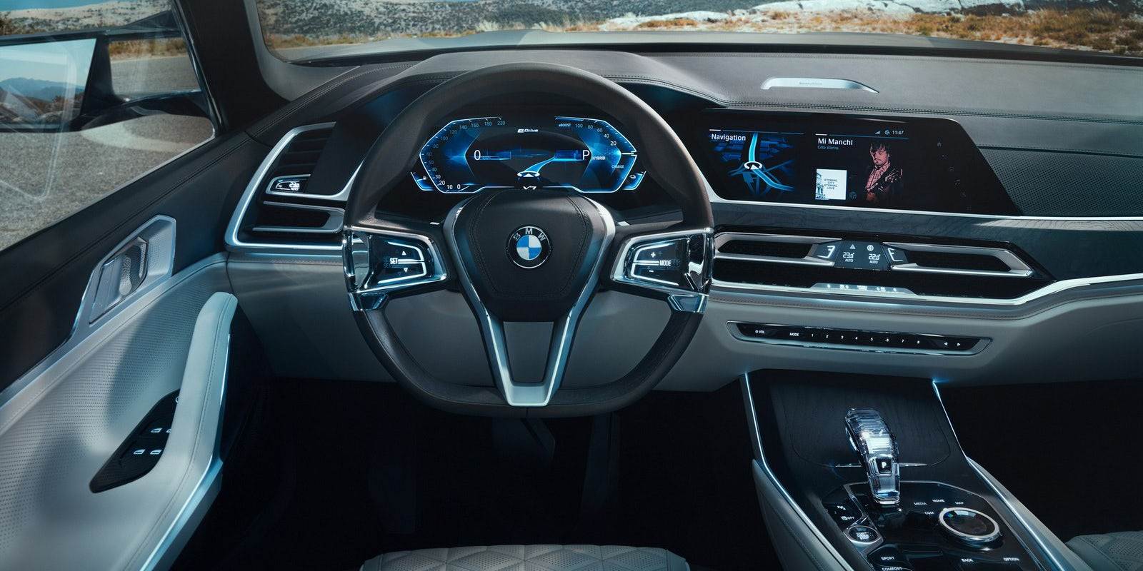 2018 bmw dashboard. delighful dashboard 2018 bmw x7 interior concept with futuristic dashboard style and bmw dashboard
