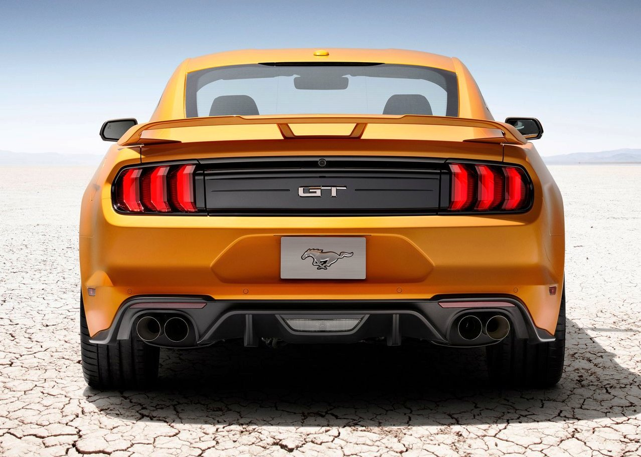 2018 Ford Mustang Shelby Gt350r Wallpaper Tail Light Changes
