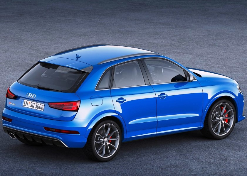 2019 Audi Q3 Blue Color Pictures