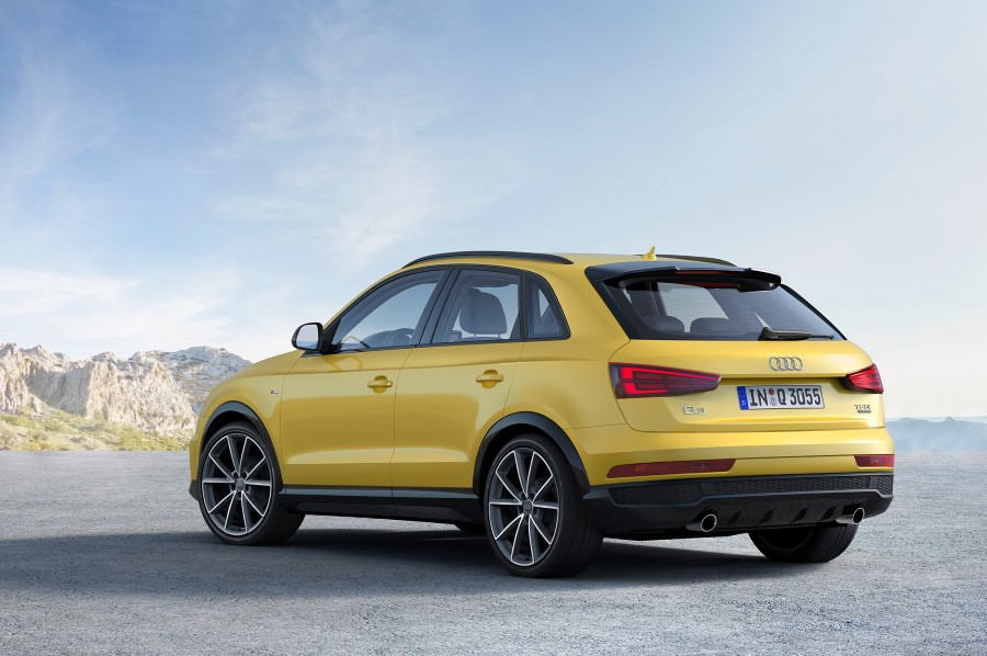 2019 Audi Q3 Redesign Exterior Yellow Color
