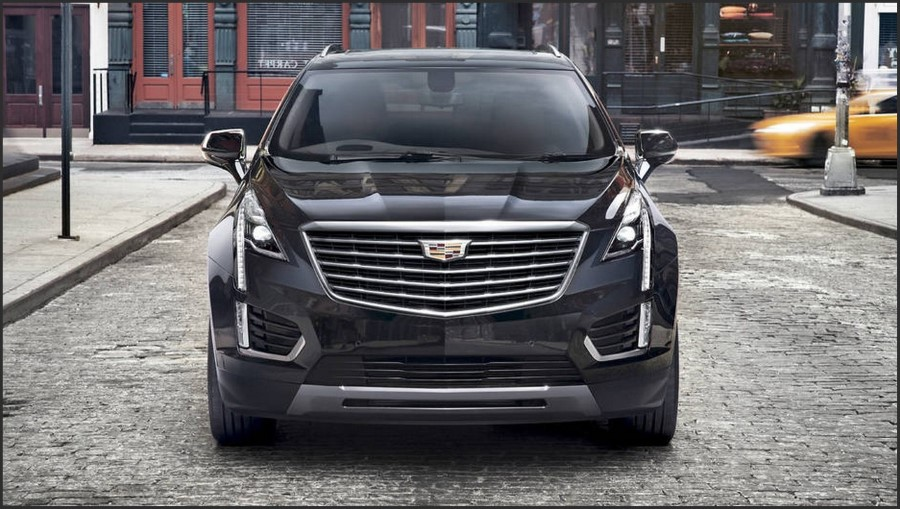 2019 Cadillac XT3 Front Angle Changes