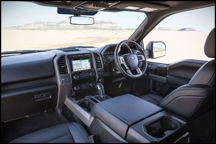 2019 Ford F150 Interior Color Changes and Restyling